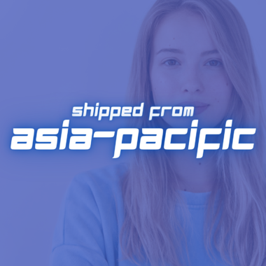 Shipped from Asia-Pacific